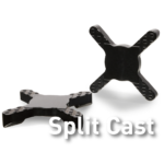 Universal base split cast